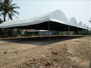 5x12 meters curved tent for rent
