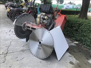Diesel cutter (not included cutting blade) for rent